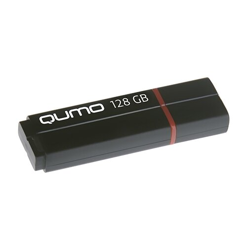 Флешка Qumo Speedster 128Gb черный