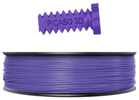 ABS пруток Picaso 3D 1.75 мм фиолетовый