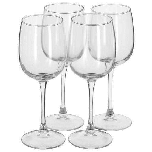 Luminarc Набор бокалов для вина Allegresse 4 шт 420 мл J8166 стакан luminarc набор drip rouge red 4 шт v 350 мл высокие 754717