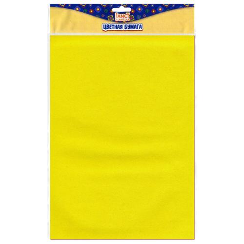 Купить Цветная бумага бархатная FANCY creative Action!, A4, 5 л., 5 цв., Цветная бумага и картон