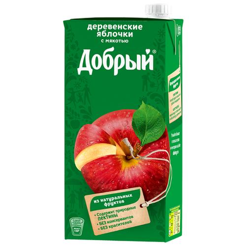 Нектар Добрый Деревенские яблочки, 2 лСоки, нектары, морсы<br>