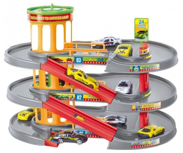 Dave Toy Игровой набор Гараж 32035