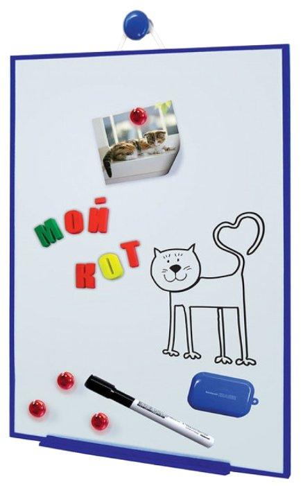 Доска для рисования детская Kribly Boo с магнитами и маркером (3288)