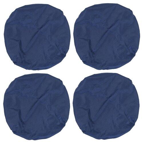 Чудо-Чадо Чехлы на колеса коляски CHK02 4 шт темно-синий чемодан airport 78 см темно синий 4 колеса