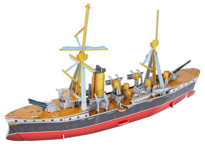 3D-пазл Zilipoo 3D Китайский крейсер (589-T), 41 дет.