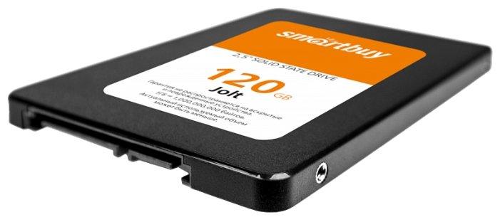 Купить Твердотельный накопитель SmartBuy 120 GB (Jolt 120 GB (SB120GB-JLT-25SAT3)) по низкой цене с доставкой из Яндекс.Маркета