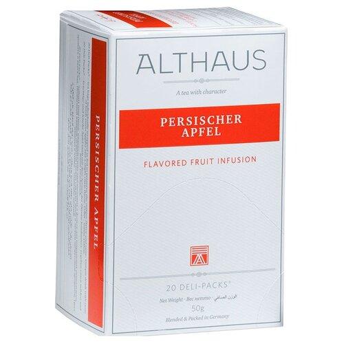 Чайный напиток фруктовый Althaus Persischer Apfel в пакетиках, 20 шт.