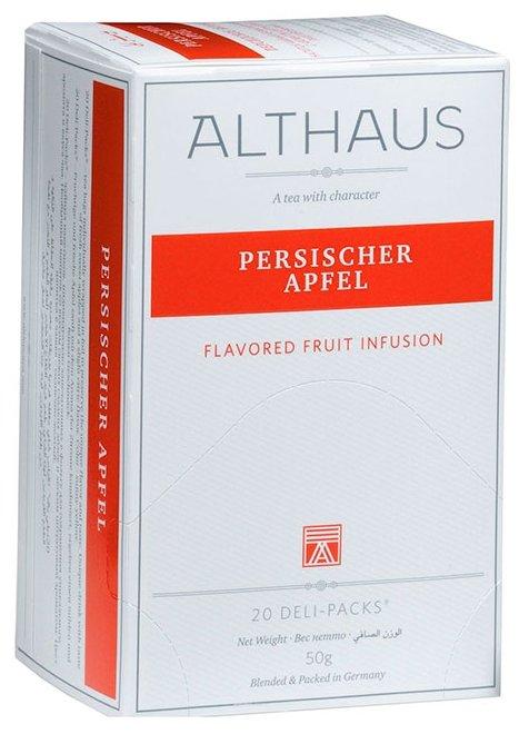Чайный напиток фруктовый Althaus Persischer Apfel в пакетиках