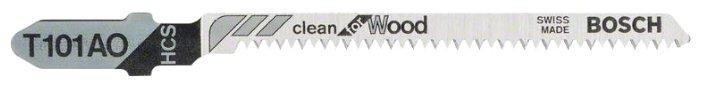 Набор пилок для лобзика BOSCH T101AO 2608630031 5 шт.