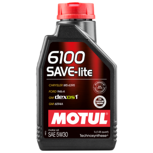 Моторное масло Motul 6100 SAVE-lite 5W30 1 л