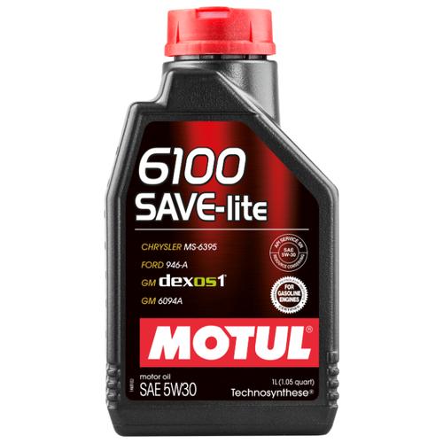 Моторное масло Motul 6100 SAVE-lite 5W30 1 л бидон padia 3 л 6100 22