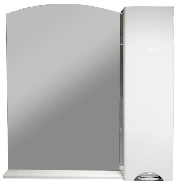 Шкаф-Зеркало Aquanet Асти 85 белый