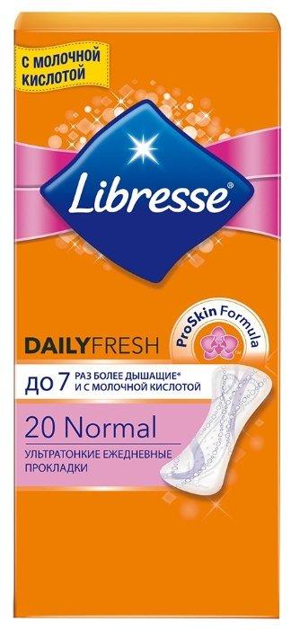 Libresse прокладки ежедневные DailyFresh Normal 32 шт.