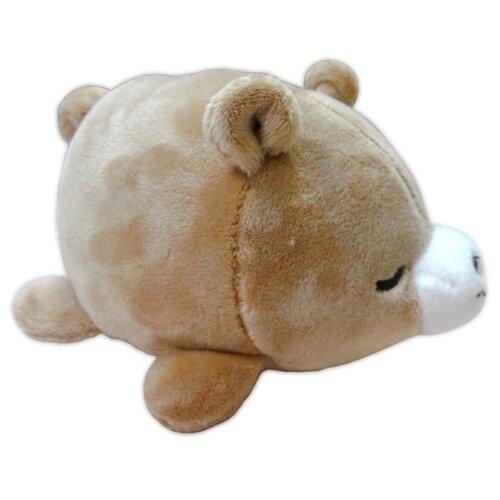 Купить Мягкая игрушка Yangzhou Kingstone Toys Медвежонок коричневый 8 см, Мягкие игрушки