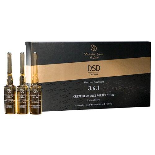Купить Divination Simone DeLuxe 3.4.1 HAIR LOSS TREATMENTS Лосьон для кожи головы Крексепил де Люкс форте, 10 мл, 10 шт.