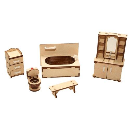 Сборная модель ХэппиДом Ванная (HK-M006)Сборные модели<br>