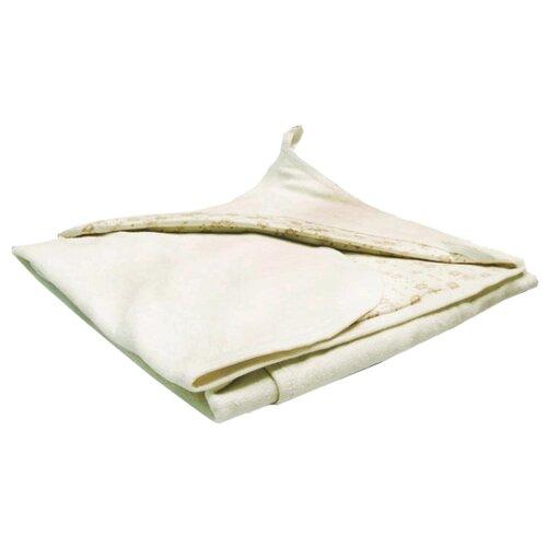 Многоразовые пеленки Сонный Гномик махровая с уголком 90х90 молочный сонный гномик простыня круглая на резинке молочный
