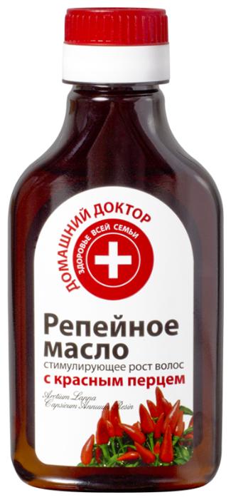 Домашний доктор Репейное масло с красным перцем для волос и кожи головы