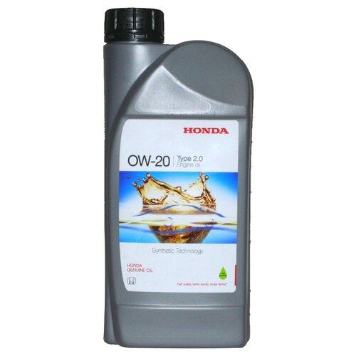 Моторное масло Honda 0W-20 Type 2.0 1 л