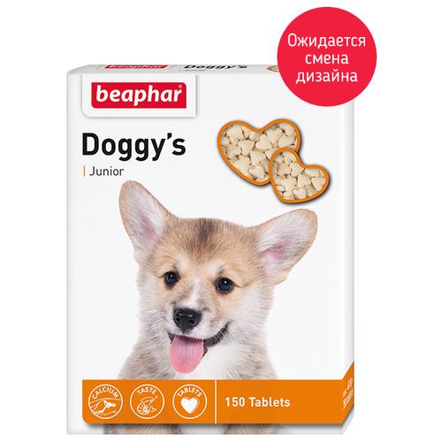Добавка в корм Beaphar Doggy's Junior 150 шт.Витамины и добавки для кошек и собак<br>