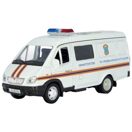 Купить Фургон Autotime (Autogrand) ГАЗель МЧС (2920) 1:43 белый, Машинки и техника