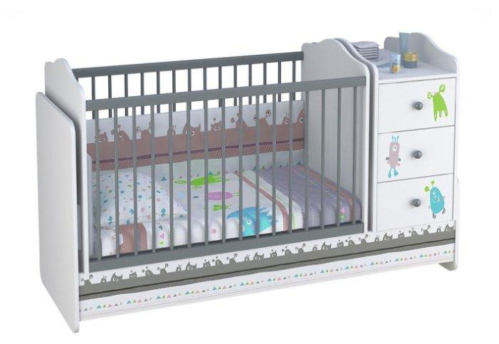 Кроватка Hoff Basic (трансформер)