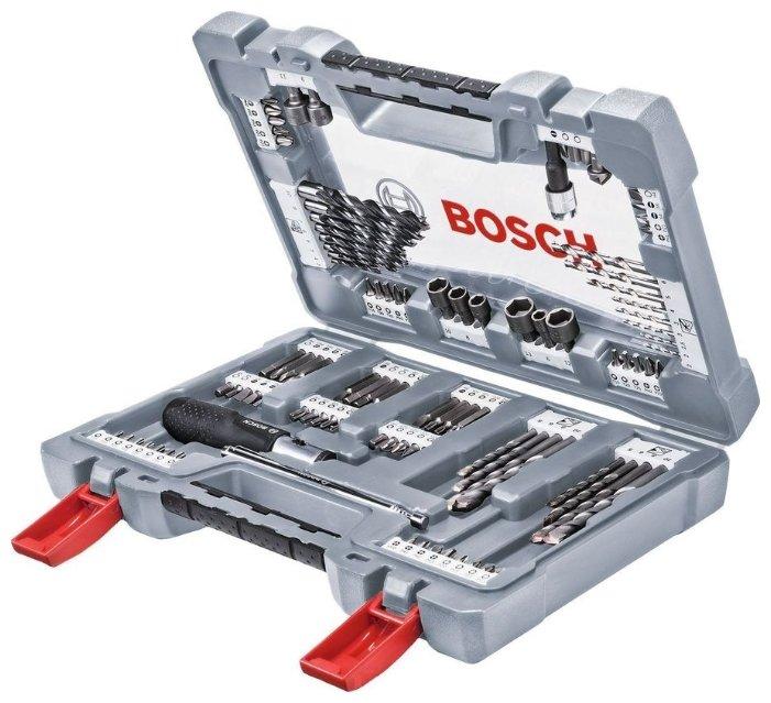 Набор инструментов и оснастки BOSCH Premium X-Line 105 (2608P00236)