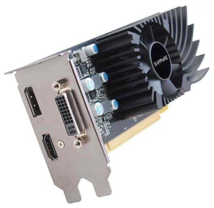 Видеокарта Sapphire Pulse Radeon RX 550 1206Mhz PCI-E 3.0 4096Mb 6000Mhz 128 bit DVI HDMI HDCP Low P