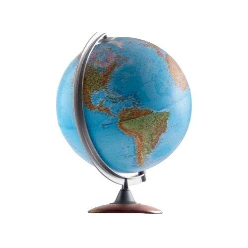 Глобус физико-политический Nova Rico Atlantis 250 мм коричневый
