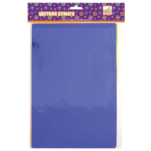 Купить Цветная бумага фольгированная FANCY creative Action!, A4, 5 л., 5 цв., Цветная бумага и картон