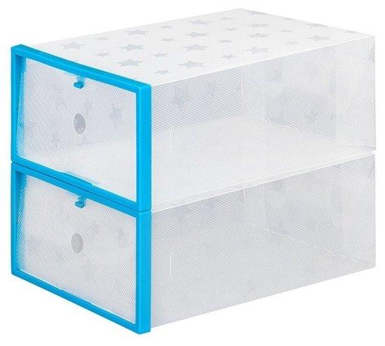 EL CASA Набор коробок для хранения обуви 12х21х29 см