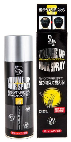 Спрей Kurobara Kurozome для придания естественного цвета седым волосам (973130)