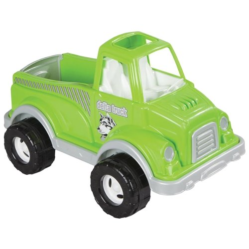 Купить Грузовик pilsan Delta (06-506) 60 см зеленый, Машинки и техника