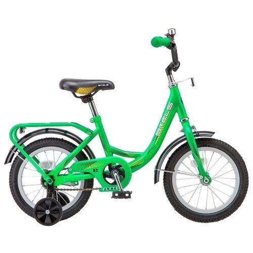 Детский велосипед STELS Flyte 14 Z011 (2018) зеленый (требует финальной сборки)