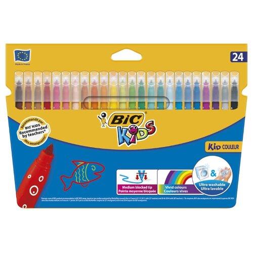 Купить BIC Фломастеры Kid Couleur 24 шт. (841800) разноцветные