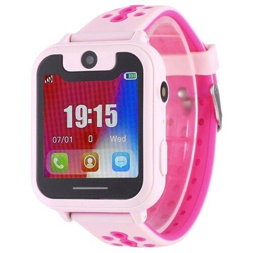 цена Часы Smart Baby Watch S6 розовый онлайн в 2017 году