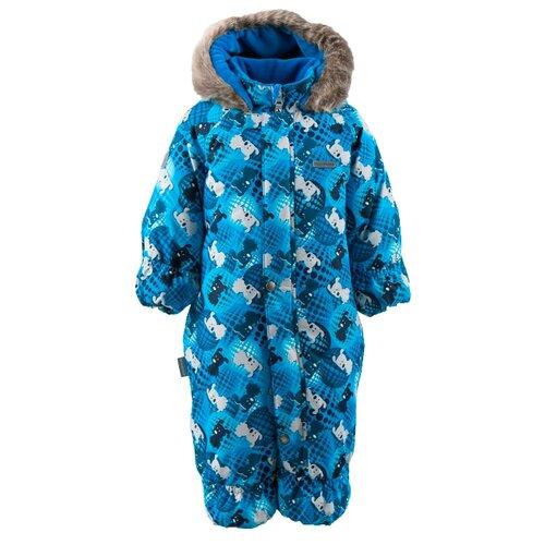 Купить Комбинезон KERRY ZOE K18406 размер 80, 6630 бежевый/ синий, Теплые комбинезоны