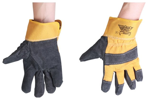 Перчатки BRIGADIER Спилковые 95061 2 шт.