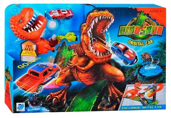 Трек TONG DE Dinosaur Orbital Car (8899-91)