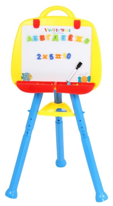 Доска для рисования детская Zhorya с буквами и цифрами (ZYB-B0485-A)