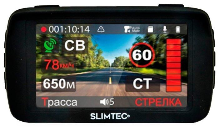 Slimtec Видеорегистратор с радар-детектором Slimtec Hybrid X