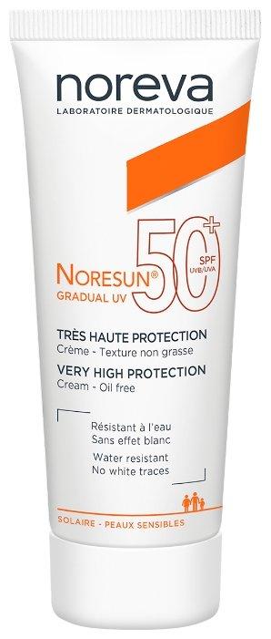 Noreva laboratories Gradual UV солнцезащитный крем SPF 50
