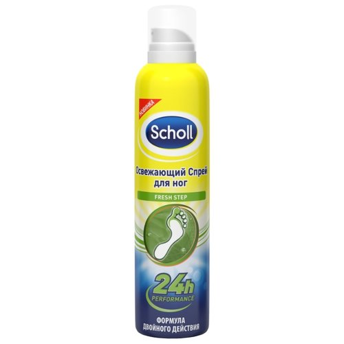 Scholl Освежающий спрей для ног Fresh step 150 млУход за ногами<br>
