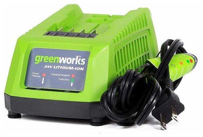 Зарядное устройство greenworks G24C 24 В