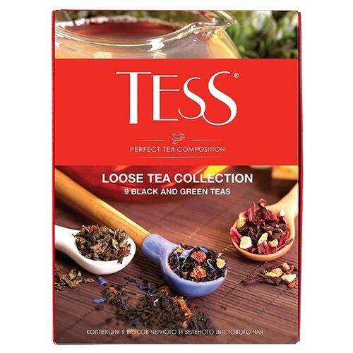 Чай Tess Loose tea collection ассорти набор из 9 коробок, 350 г комбинация soft line tess белая xxl page 9