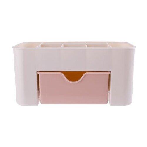HOMSU Органайзер настольный для косметики Homsu, розовый розовый