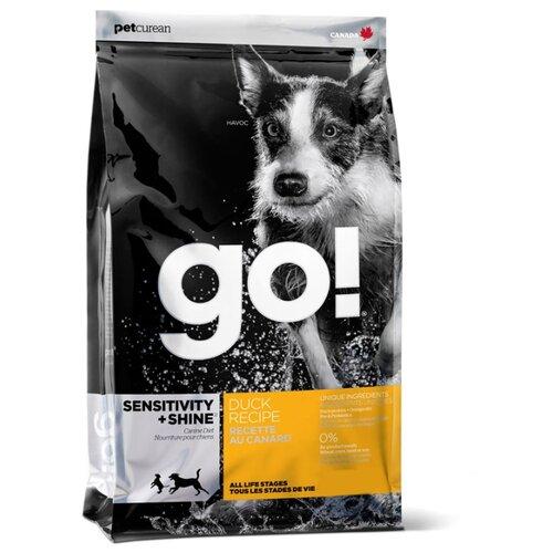 Сухой корм для собак GO! Sensitivity + Shine утка 11.35 кг
