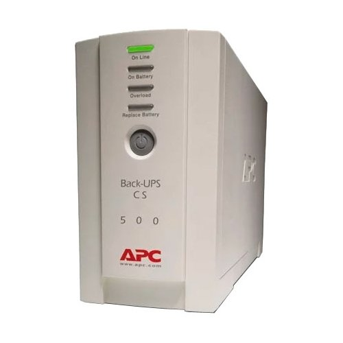 Резервный ИБП APC by Schneider Electric Back-UPS BK500EI ибп apc by schneider electric back ups pro 900 br900gi