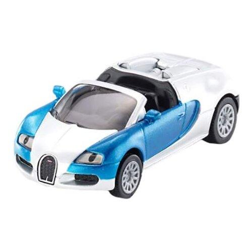 Купить Легковой автомобиль Siku Bugatti Veyron Grand Sport (1353) 1:55 9.7 см серебристый/синий, Машинки и техника