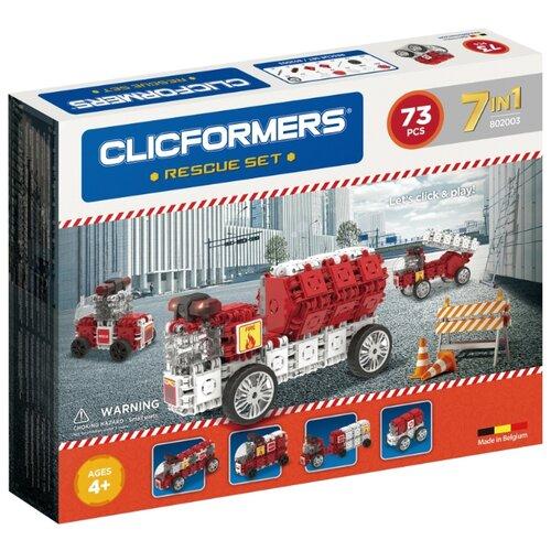 цена Магнитный конструктор Magformers Clicformers 802003 Rescue Set онлайн в 2017 году